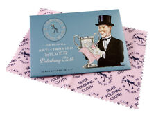 Original Town Talk Anti-Tarnish Silver Jewellery Cleaning & Polishing Cloth