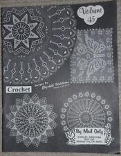 Crochet Pattern Book Elizabeth Hiddleson Vol 45  39 Pages Many FANCY  Doilies