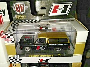 M2 Machines O'Reilly's Exclusive 1973 Chevy Cheyenne C10 Hurst square