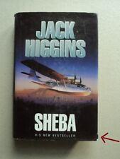 Sheba by Jack Higgins (Hardback, 1994)