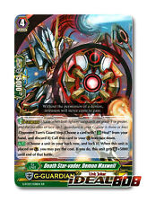 Cardfight Vanguard  x 4 Death Star-vader, Demon Maxwell - G-FC03/038 - RR Mint