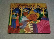 Putumayo Presents Zydeco CD Creole Farmers Stomp Queen Ida Buckwheat Zydeco