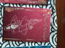 QUEEN EMERALDAS CAPTAIN HARLOCK ALBATOR GALAXY EXPRESS 999 TRADING CARD CARD