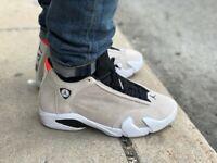"""Scarpe sneakers Air Jordan 14 Retro """"Desert Sand"""" 2018,vari numeri,cod.487471-02"""