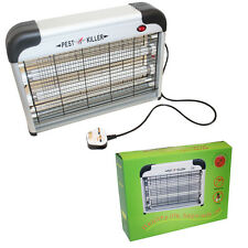 220V Electric UV Mosquito Bug Zapper Fly Flying Insects Moth Killer Catcher Trap