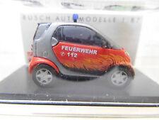 eso-412Busch 1:87 Smart Facelift Feuerwehr sehr guter Zustand