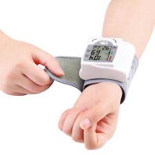 Digital LCD Wrist Blood Pressure Monitor Heart Beat Rate Pulse Meter FE