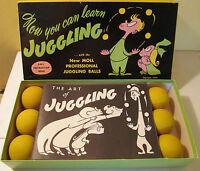 1949 Harry Moll The Art of Juggling Jugglers Kit w/box