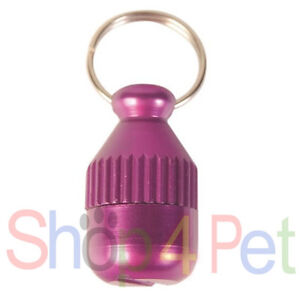 Metal ID Capsule TRIXIE in *Various Colours for PET DOGS & CATS