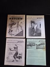 70's National Skateboard Review newsletters, 4 issues, Berryman, Miyoshi