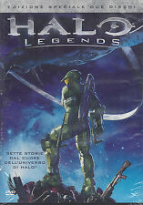 2 Dvd **HALO LEGENDS** Ediz. Speciale 2 dischi nuovo 2010