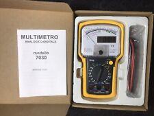 Multimetro Tester Digitale Analogico X Oscilloscopio Spettro