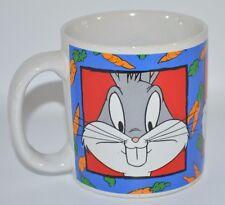 Looney Tunes Bugs Bunny Ceramic Coffee Mug 16 oz Sakura 1993