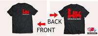 HK HECKLER AND KOCH Firearms Gun Logo Men's Black T-Shirt Size S-5XL 2