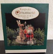 New listing 1995 Hallmark Keepsake Ornament Collector's Club Fishing for Fun Ornament