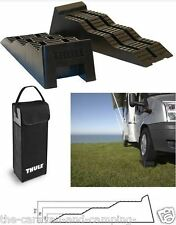 THULE Level Ramps x 2  - Levelling Ramps & Storage Bag - Caravan / Motorhome
