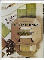 """24 Page 1978 """"U.S. Open Tennis"""" Sports Illustrated Ad Booklet"""