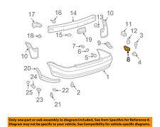 TOYOTA OEM 03-05 Echo Rear Bumper-Bumper Cover Retainer 5257552071