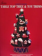 Christmas Table Top Tree & Toy Trims for Barbie Paradise Plastic Canvas PATTERN
