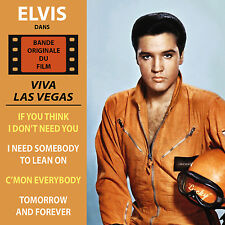 CD Elvis Presley - Viva Las Vegas - EP vinyl replica - BOF - OST