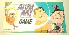 vtg ATOM ANT 1966 Transogram Cartoon TV Board Game 100% COMPLETE w/ Instructions
