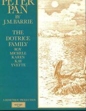 Peter Pan audio 3-LP box set / Dotrice Family reading.