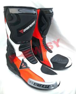 Elegant Design LEATHER RACING Motorbike Shoes Motorcycle Boots New Design