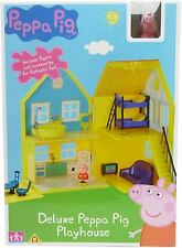 Peppa Pig Toy Deluxe Playhouse Playset Inc Figure and Accessories Play Set House