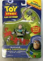 Disney Pixar Toy Story and Beyond Tornado Buzz Lightyear with Barrel of Monkeys