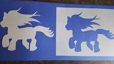 Schablone 694 Filly Pferd  Wandtattoo Möbel Leinwand Textilgestaltung Airbrush