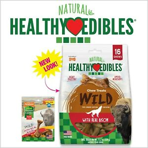 Nylabone Healthy Edibles Wild Bison Value Bag Small 16pk  (Free Shipping)