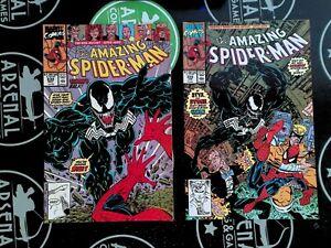 Amazing Spider-Man #332 & 333 Marvel Comics 1990 Venom