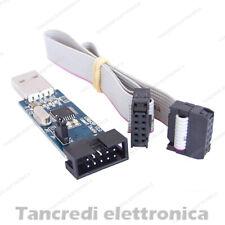 PROGRAMMATORE PROGRAMMER AVR ATMEGA ATMEL USBASP ISP TURNIGY, ARDUINO, FPV