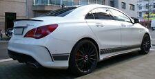 Mercedes CLA Class W117 - Rear boot spoiler AMG look