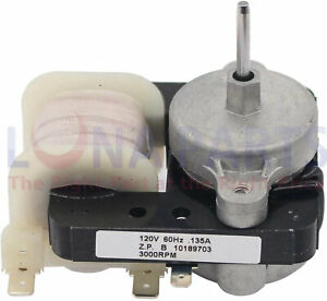 W10189703 Fan Motor, WPW10189703 AP6016598 10449505 10449506 2188848 PS11749890