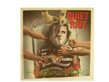 Quiet Riot Poster Condition Critical Flat