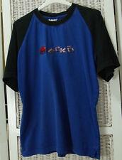 "ECKO T-Shirt 39"" Chest Men's Raglan Cotton Urban Casual Tee Rhino Spellout Tee"