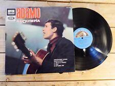 ADAMO A L'OLYMPIA LP 33T VINYLE EX COVER EX ORIGINAL EDITION 1965