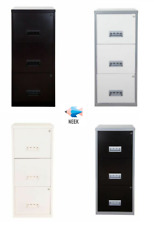 More details for 3 drawer a4 pierre henry maxi filing cabinet - various colours! free post!