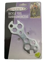 Multi Purpose Bike Bicycle Cycle Spanner Tool Wrench.