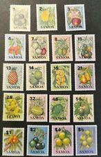 Samoa 1983 Fruit set  MUH g11