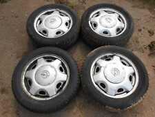 1 Satz Stahlfelgen Design original Opel 51/2x15 ET46 auf Sommerreifen