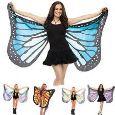 Butterfly Wings Cape Shawl Adult Fairy Pixie Cloak Costume Fancy Dress Party TP