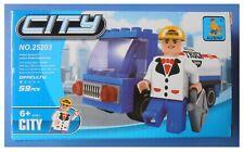 Costruzioni Ausini City camion autobotte compatibili Lego 59 pezzi