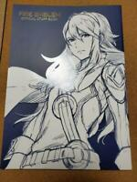 Fire Emblem Official Staff Book Illustration Art 25th anniversary Japan