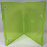 Microsoft XBOX 360 Translucent Green Empty Replacement Video Game Storage Case