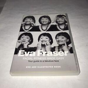Eva Fraser Facial Fitness Made Easy DVD Only Missing Book