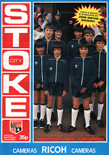 1982/83 Stoke City v West Ham United, Division 1, PERFECT CONDITION