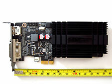 1024MB PCI-E x1 Low Profile Half Height Windows 10 8 7 Vista XP Linux Video Card
