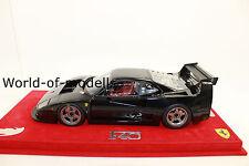 BBR P18131B Ferrari F40 LM Gloss Black limited  99 Stück  1:18 NEU in OVP